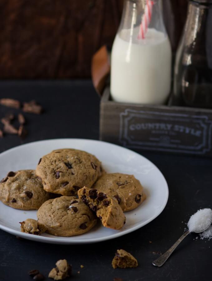 Chocolate Chip Espresso Cookies