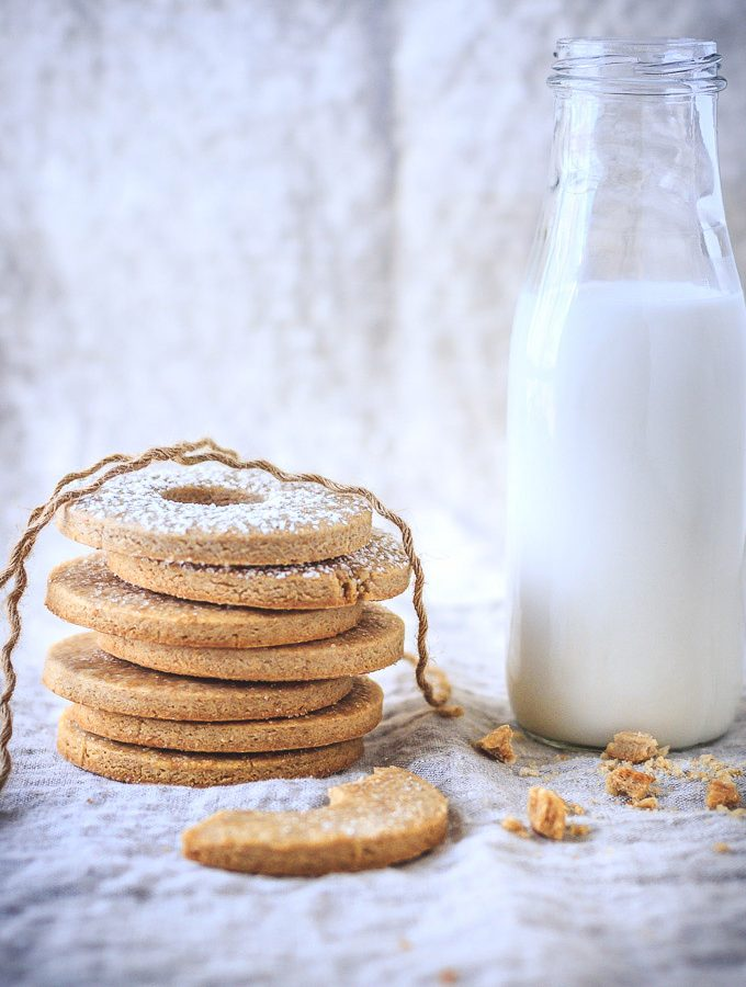 Swedish Whole Wheat Butter Cookies