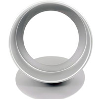Fat Daddio's Anodized Aluminum Round Cheesecake Pan, 9 Inches by 3 Inches