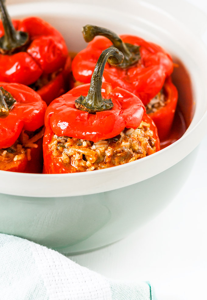 Ukrainian all Beef Stuffed Peppers Recipe. Healthy and Easy to make.
