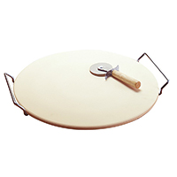 Good Cook 14.75 Inch Pizza Stone with Rack