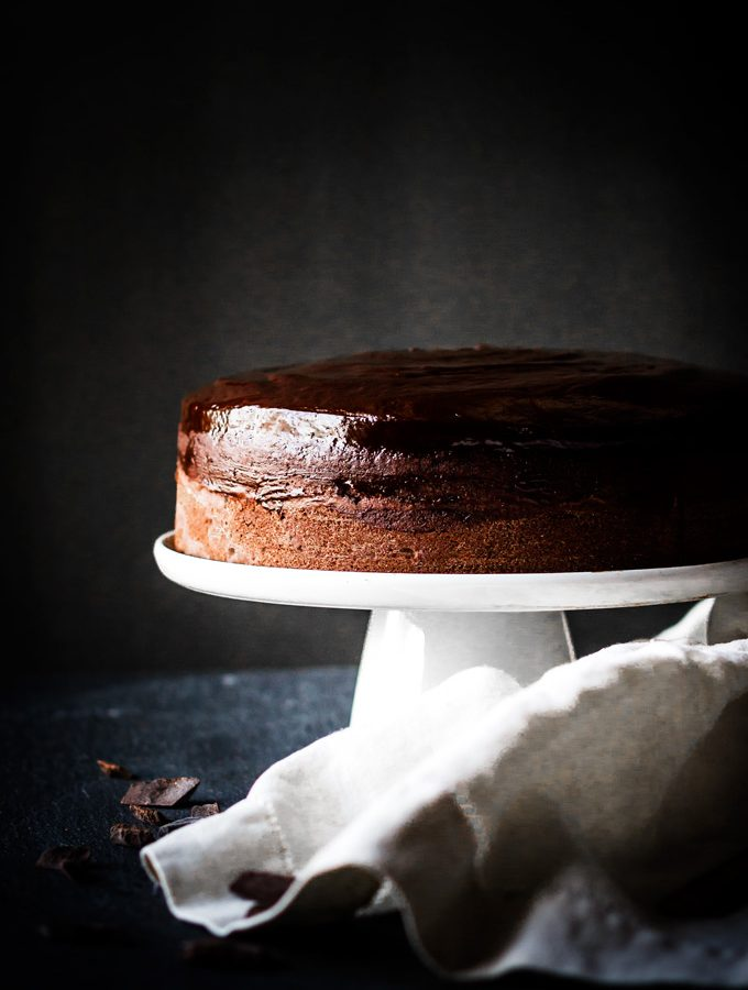 Baileys Chocolate Cake with Chocolate Frosting (Rich & Luxurious)