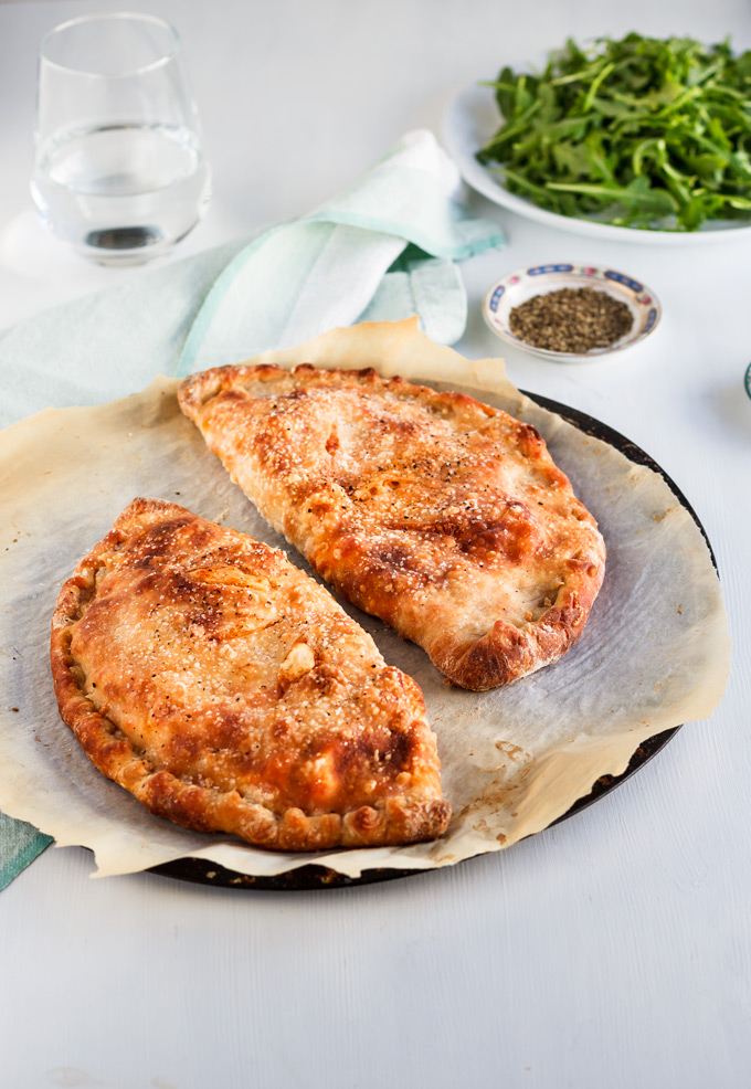 How To Make The Best Buffalo Rotisserie Chicken Calzone