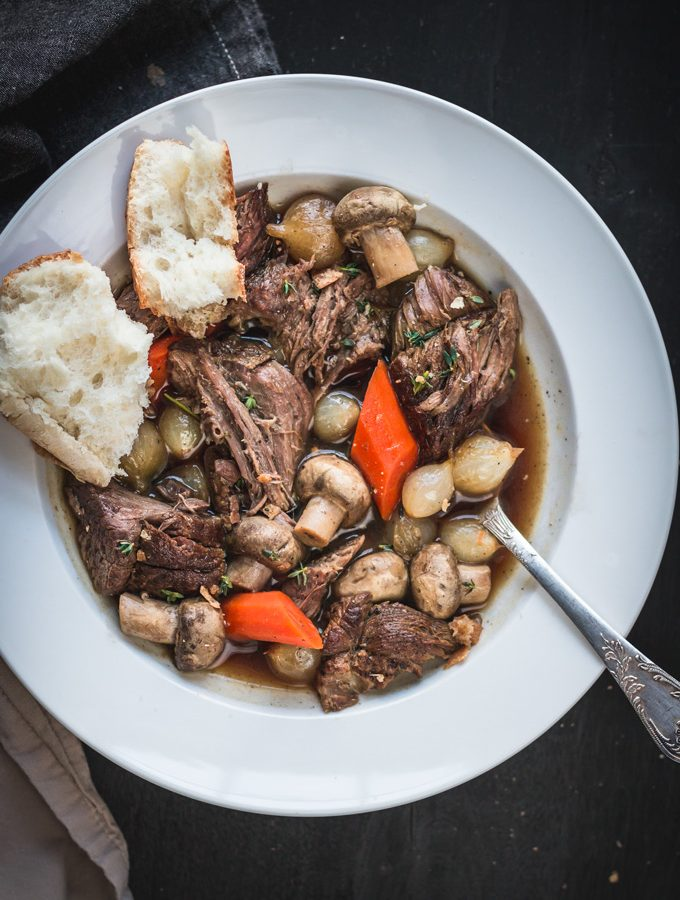 Light and Easy Irish Guinness Beef Stew