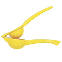 Zulay Premium Quality Metal Lemon Squeezer Citrus Juicer. Manual Press for Extracting the Most Juice Possible