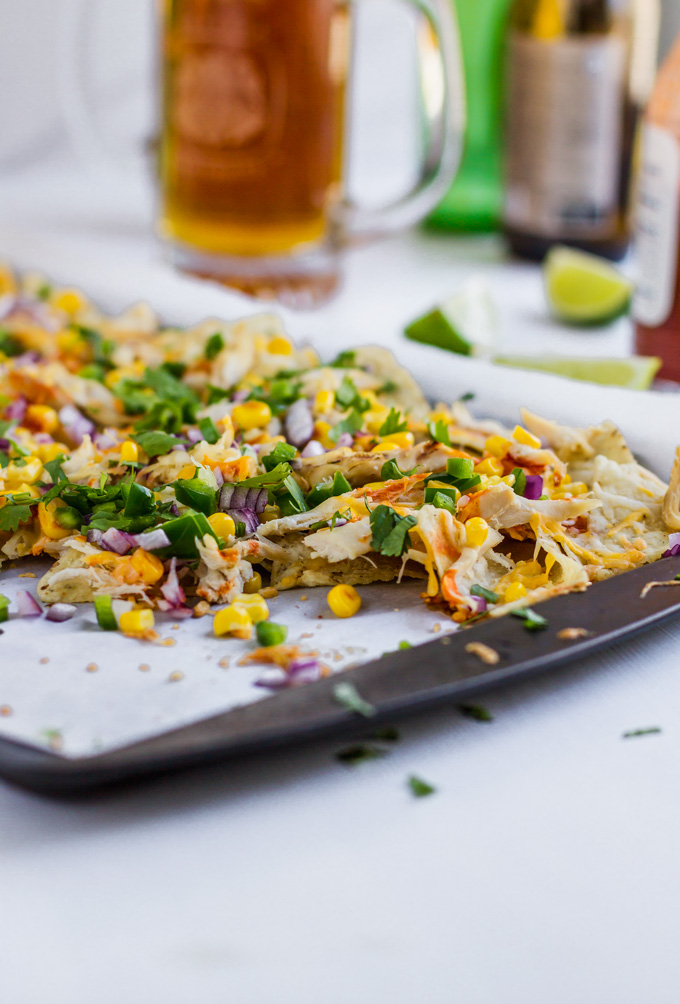 Quick and Easy Rotisserie Chicken Nachos