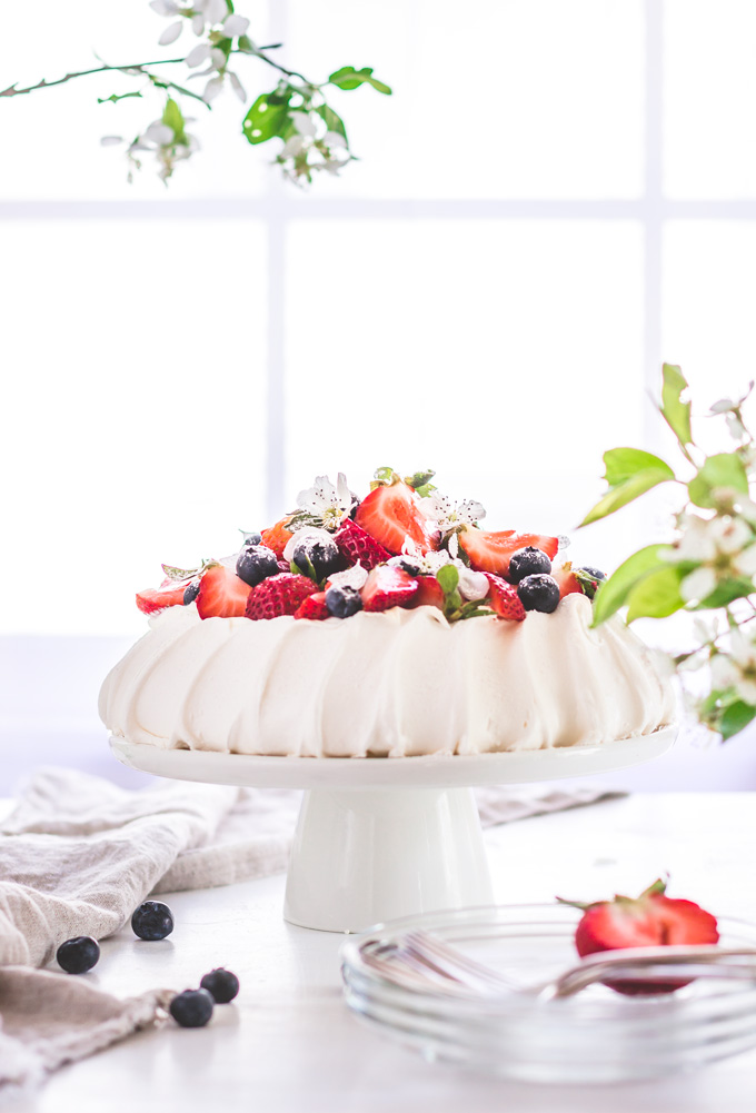 How To Make Authentic Pavlova Cake
