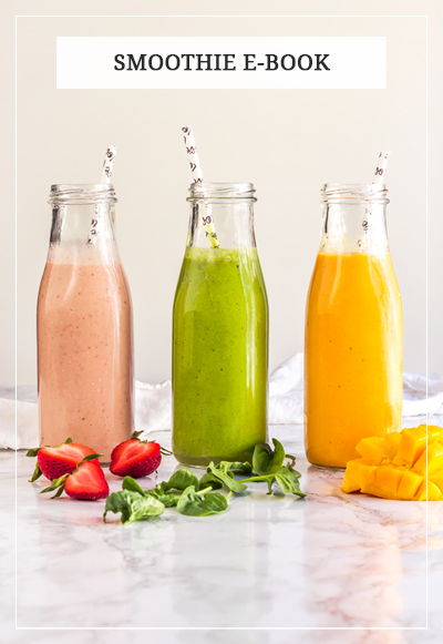FREE 3 Healthy Smoothies Ebook. In this smoothie ebook, you will find three power smoothies for better health. Ebook includes Detox green smoothie, Tropical smoothie, and Strawberry banana smoothie. Each smoothie is created for different health purpose to boost your immune system and overall health. All recipes use simple but powerful ingredients, requires about 5 minutes to make, and taste absolutely delicious. Book also has useful tips and tricks on how to make healthy smoothies at home. Grab your FREE SMOOTHIE EBOOK at The Pure Taste. Cheers for better health! #smoothie #smoothies #healthysmoothie #ebook