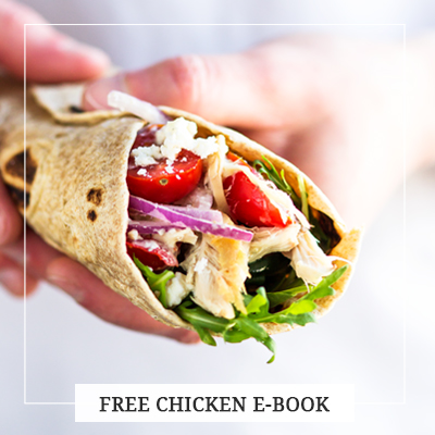 FREE 5 leftover rotisserie chicken recipes ebook. This small collection of chicken recipes was born from my necessity of quick and easy but healthy meals using leftover rotisserie chicken. In this ebook, you will find five meals using leftover cooked chicken that are fun and easy to make, delicious and can be served as a full dinner.