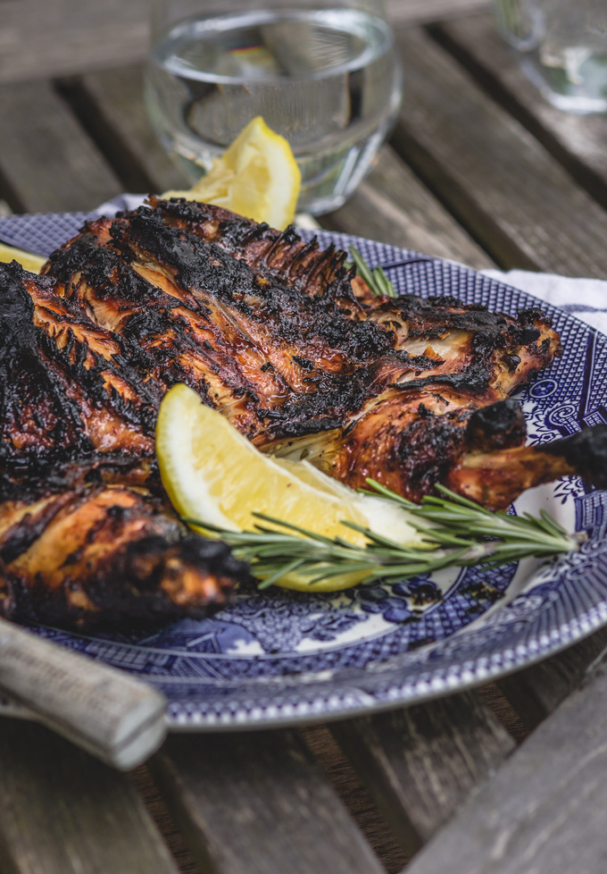 Juicy Lemon Grilled Chicken (Tuscan Style)